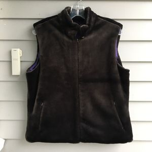 J.McLaughlin Faux Thick Pile Fur Vest Sz.M